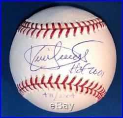 Kirby Puckett Autographed Signed ROAL Baseball Minnesota Twins HOF 2001 Insc