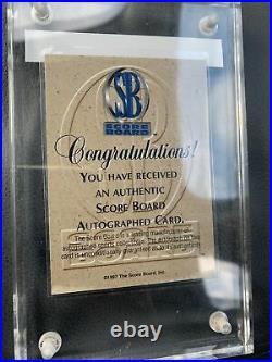 Kobe Bryant 1998 Scoreboard Blue Ribbon Auto Autograph Signed 1/1 Number #1/50