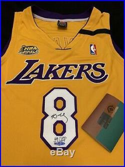 Kobe Bryant Nike 1999-00 Lakers 2000 Nba Finals Pro Cut Jersey Signed Auto Uda