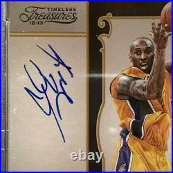 Kobe Bryant Signed 2012 13 Panini Timeless Treasures #5 Autographed /99 PSA 10