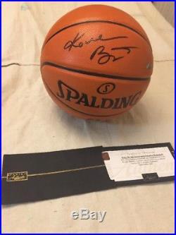 Kobe Bryant Signed Autograph Basketball Ball Auto La Lakers Panini Coa Holo