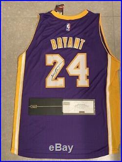 Kobe Bryant Signed Autographed Swingman Jersey Panini Coa