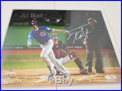 Kris Bryant Chicago Cubs Signed 16x20 World Series Auto Photo Fanatics MLB COA