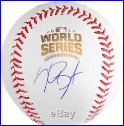 Kris Bryant Cubs Signed 2016 MLB World Series Baseball Fanatics Authentic