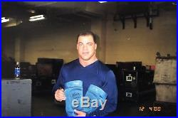 Kurt Angle Signed Autographed Ring Worn Knee Pads WWE WWF TNA Photo Proof