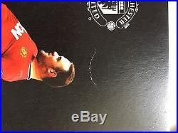 LIMITED EDITION Wayne Rooney Signed Manchester United Shirt Box Set Autograph