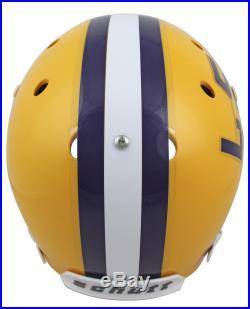 LSU Joe Burrow 2019 Heisman Signed Schutt Full Size Rep Helmet BAS Witnessed