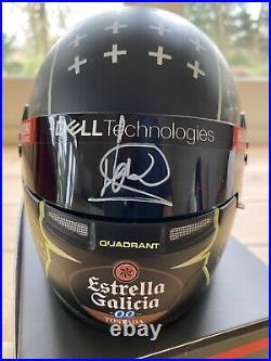 Lando Norris SIGNED Team Quadrant 12 Scale Bell Helmet, Bahrain Formula 1 BNIB