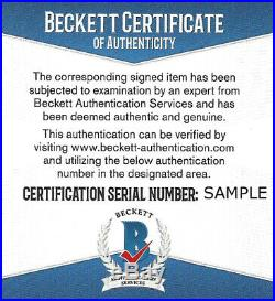Larry Bird Autographed Signed Spalding Basketball Boston Celtics Beckett 145799