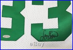 Larry Bird signed auto Celtics 1991-92 final season Mitchell Ness jersey Steiner