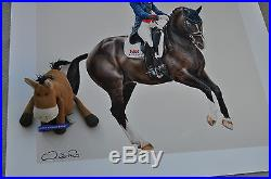 Last remaining available Valegro print hand signed by Charlotte Dujardin