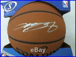 LeBron James NBA Official Spalding Signed Full Size 29.5 Game Ball Basketball