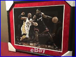 LeBron James Signed 16x20 Photo UDA COA Heat Autograph Cleveland Cavaliers Kobe