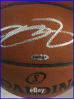 Lebron James Lakers Cavaliers signed NBA Basketball auto UDA Upper Deck COA
