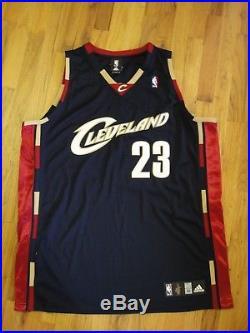 Lebron James Signed Uda 2003 Rookie Jersey Autographed Upper Deck Cleveland Cavs