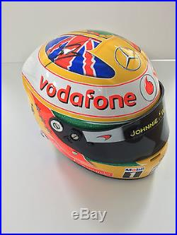 Lewis HAMILTON Autograph SIGNED 12 Helmet 1/2 Scale AFTAL COA