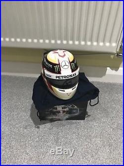 Lewis Hamilton 2015 Signed 1/2 Scale Helmet