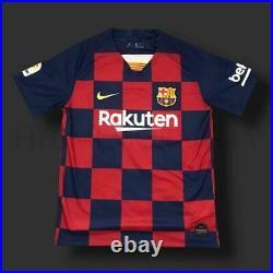 Lionel Messi Barcelona 19/ 20 Signed Shirt COA