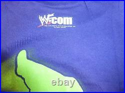 Lita Signed Original 2001 WWF Shirt PSA/DNA WWE Pro Wrestling Legend Autograph