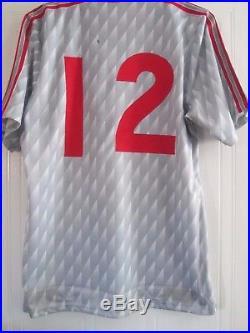 0db466946ea Liverpool 1989-1990 Beardsley Match Worn Squad Signed Football Shirt 41899  Provi