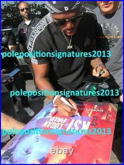 Logan Paul & KSI Signed Boxing Fight Poster PROOF Staples Center YouTube DAZN UK