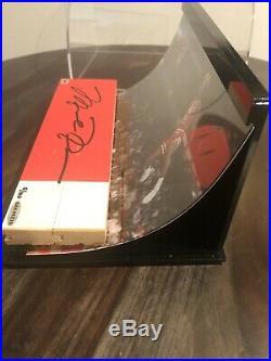 MICHAEL JORDAN UDA Game Used Floor Bulls Auto Autograph Signed 5/100