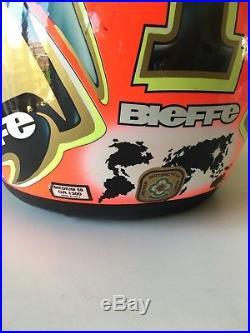 MOTOGP SIGNED Max Biaggi Signed Helmet