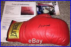 MUHAMMAD ALI hand signed autographed JSA certified boxing glove