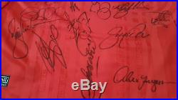 Manchester United Treble Winning Champions League Shirt 1999 Signed by Squad