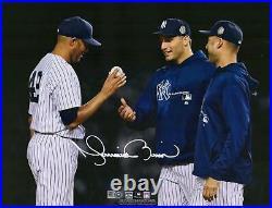 Mariano Rivera New York Yankees Signed 11 x 14 Final Game Spotlight Photo