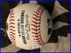 Mariano Rivera Signed Autographed Hof 2019 Oml Baseball Steiner Coa Yankees
