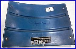 Mariano Rivera Signed Game Used Yankee Stadium Seatback Auto MLB STEINER COA