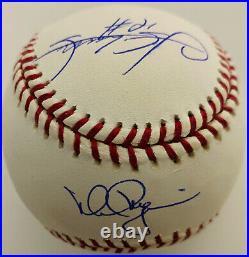 Mark McGwire and Sammy Sosa Signed MLB Baseball MLB Hologram + Steiner