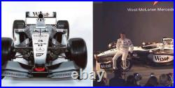 McLaren parts Raikkonen signed mirror actually used F1 Mercedes MP4-17