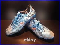 Messi Match Worn Shirt & Worn Signed Boots Supercopa 2016 & Players Trophy