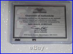 Michael Jordan'04 Upper Deck Auto Autograph IP Signed Card with COA