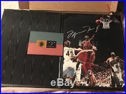 Michael Jordan 8x10 Signed Photo UD Certified