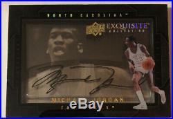 Michael Jordan Signed Auto Autograph Card Exquisite Basketball 2011