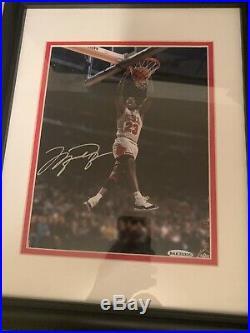 Michael Jordan Signed Auto Frame Upperdeck 8x10