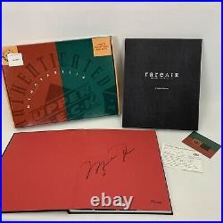Michael Jordan Signed Autographed Rare Air Book Upper Deck UDA 1858/2500