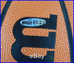 Michael Jordan Signed / Autographed Spalding Full Size Basketball UDA COA