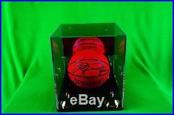 Michael Jordan Signed Chicago Bulls Spalding NBA Official Game Basketball UDA