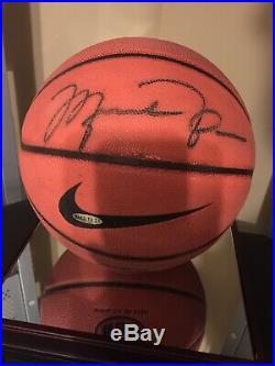 Michael Jordan Signed July 1998 Nike Basketball UDA Upper Deck Authenticated