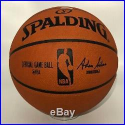 Michael Jordan Signed NBA Spalding Basketball UDA COA w Original BOX BOLD AUTO