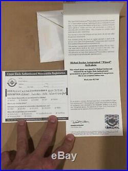 Michael Jordan Signed Photo UDA Auto Autograph