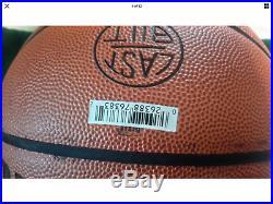 Michael Jordan UDA Upper Deck Signed Auto Full sizeWilsonBasketball with Bag & Box