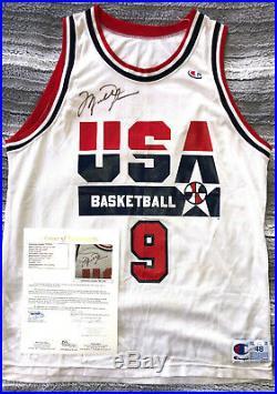 Michael Jordan USA Dream Team 1992 Worn Signed Jersey Jsa Authentication