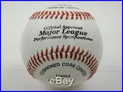 Michael Jordan Uda Upper Deck Authentidated Signed Baseball Autographed