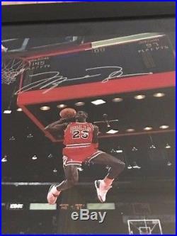Michael Jordan Upper Deck Signed 16x20