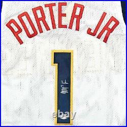 Michael Porter Jr. Autographed signed jersey NBA Denver Nuggets PSA COA